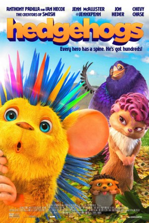 Theresa's Reviews Lionsgate Hedgehogs Poster