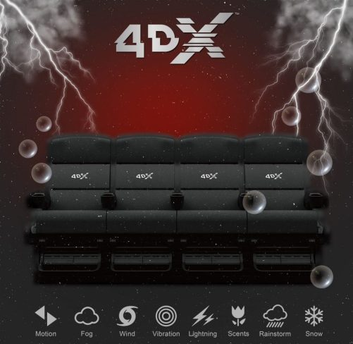 Theresa's Reviews - 4DX Movie Theater Seats