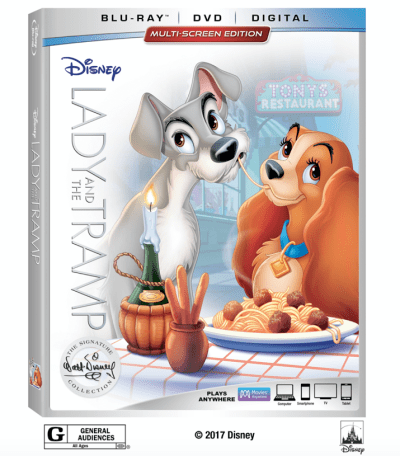 Theresa's Reviews - Lady and the Tramp wags its way to the Walt Disney Signature Collection