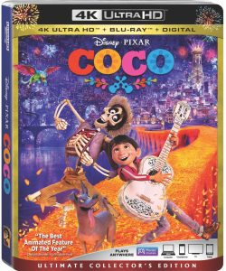 Theresa's Reviews - Coco 4K Ultra HD / Blu-Ray Review