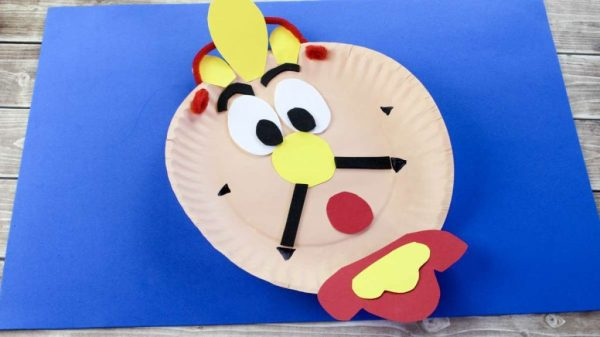 Cogsworth Clock Craft Theresa's Reviews - 2018 Oscar Party Kids Craft And Recipe Ideas