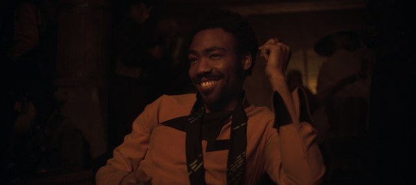 Donald Glover is Lando Calrissian in SOLO: A STAR WARS STORY. 'Solo: A Star Wars Story' still photo #SoloAStarWarsStory