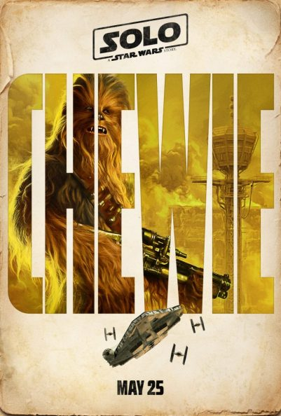 Joonas Suotamo as Chewbacca. 'Solo: A Star Wars Story' character poster #SoloAStarWarsStory
