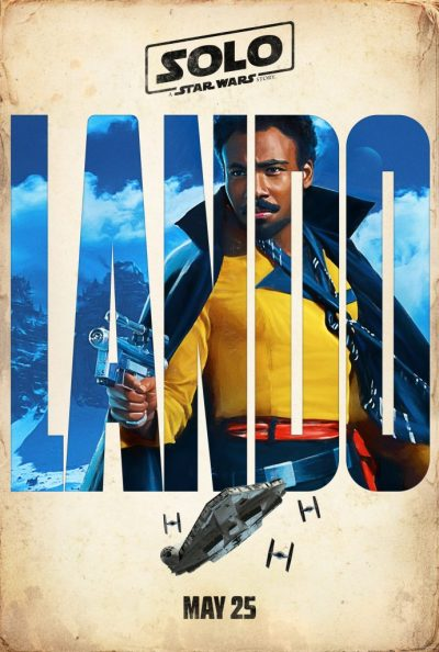 Donald Glover as Lando Calrissian. 'Solo: A Star Wars Story' character poster #SoloAStarWarsStory