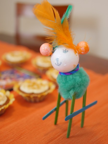 Buy a giant tub of crafts and let children come up with their own alibrijes creations! Theresa's Reviews #CocoBluRay