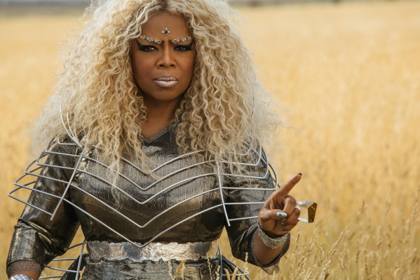 Oprah Winfrey is Mrs. Which in Disney's A WRINKLE IN TIME.