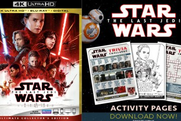 Star Wars The Last Jedi Free Printable Activities