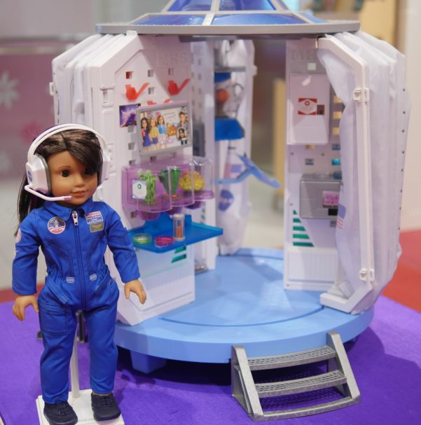American Girl Cafe & Hair Salon Experience - Luciana Vega Spaceship - Theresa's Reviews