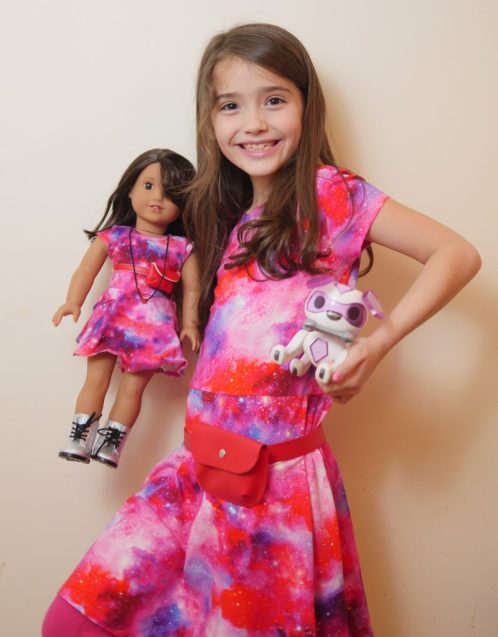 American Girl Cafe & Hair Salon Experience - Luciana Vega Matching Children's Dress and Robotic Dog - Theresa's Reviews