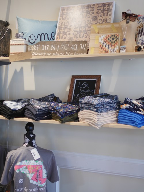 A La Mode Boutique Grand Re-Opening in Old Ellicott City, Maryland - Handmade Home Decor Signs - Theresa's Reviews