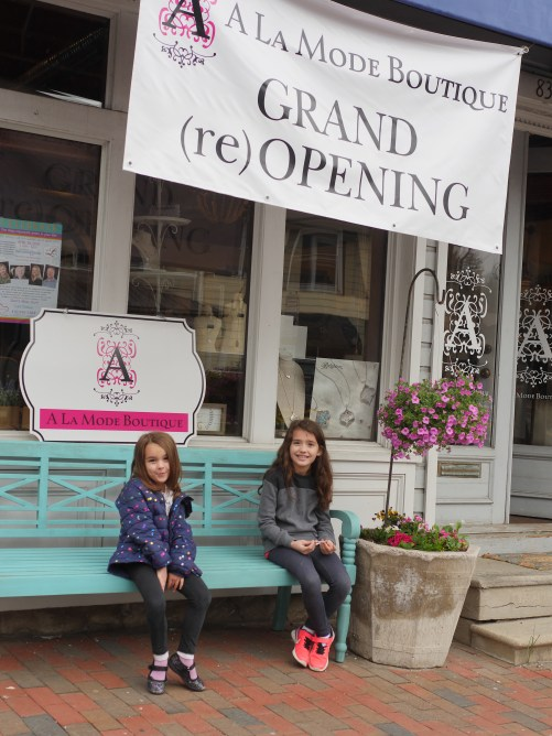 A La Mode Boutique Grand Re-Opening in Old Ellicott City, Maryland - Theresa's Reviews