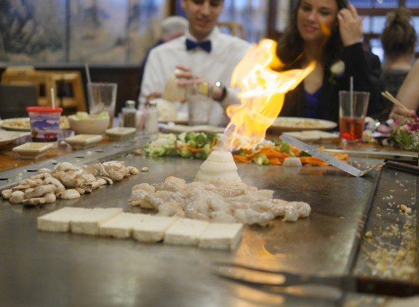 How To Have A Simple Springtime Family Celebration - Theresa's Reviews - Japanese Seafood and Steakhouse