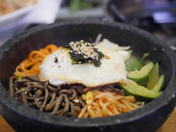 Honey Pig BBQ Restaurant Bibimbap Pot on Korean Way - Theresa's Reviews