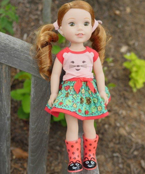 American Girl Wellie Wisher Garden Picnic With Willa - Theresa's Reviews