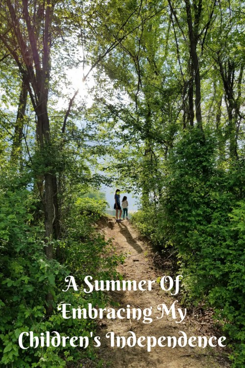 A Summer Of Embracing My Children's Independence - Theresa's Reviews