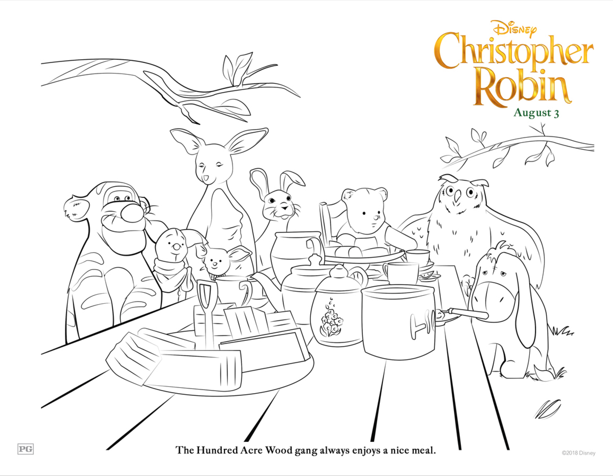 Disney S Christopher Robin Review Amp Activity Pages