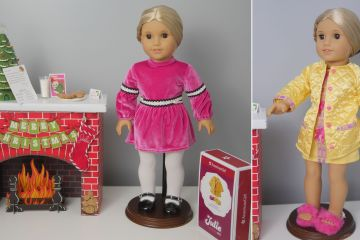 American Girl Julie Doll Has Brand New Christmas Accessories (& GIVEAWAY!)