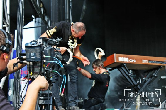 King Khan and The Shrine play Chicago's North Coast Music Festival 2012
