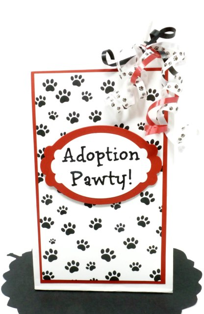 Dog Adoption Party Favors, Misfit Manor Shop