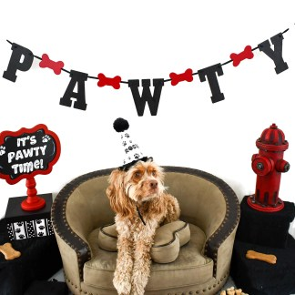 Dog Party Banners
