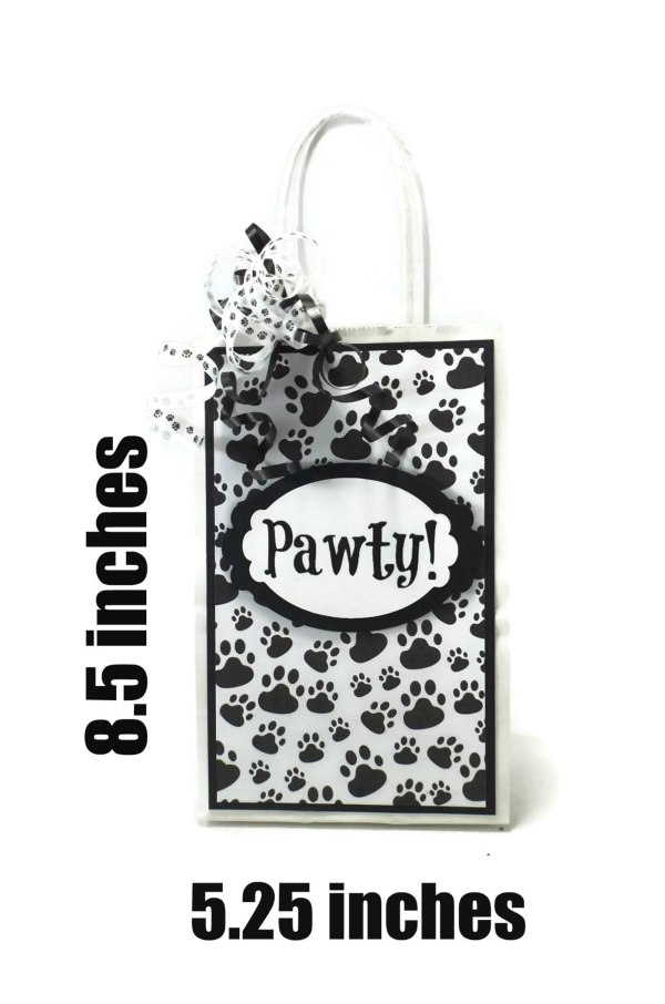 Dog Birthday Party Favors, MIsfit Manor Shop