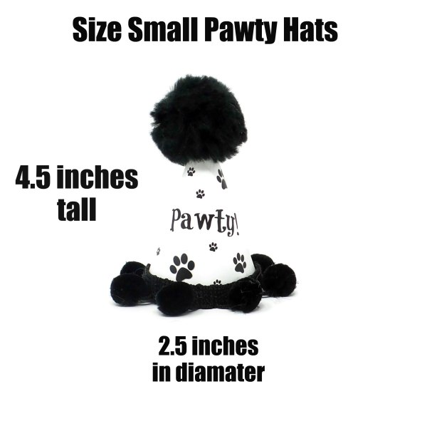 Dog Party Hat, Size Small, Misfit Manor Shop