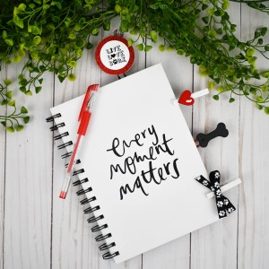 Paw Print Planner Accessories, The Misfit Manor Shop