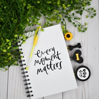 Yellow Dog Mom Planner Accessories, The Misfit Manor Shop