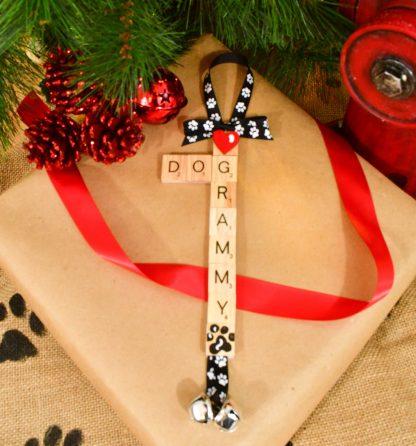 Dog Grandma Ornament