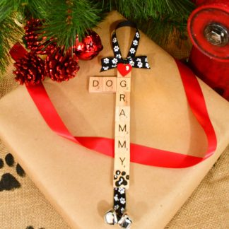 Dog Grandma Ornament