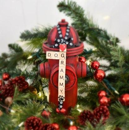 Dog Grandma Christmas Ornament, The Misfit Manor Shop