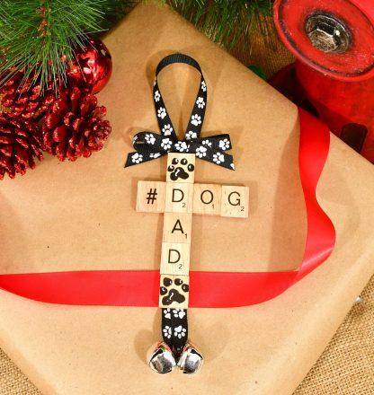 Dog Dad Christmas Ornament