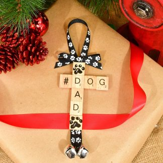 Dog Dad Christmas Ornament
