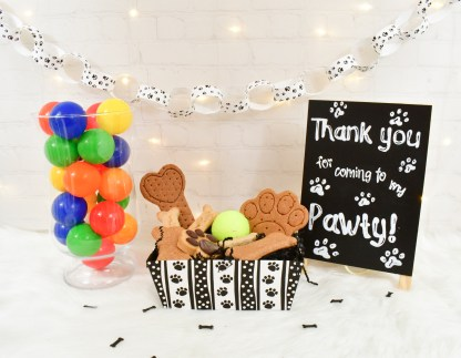 Paw Print Party Decorations
