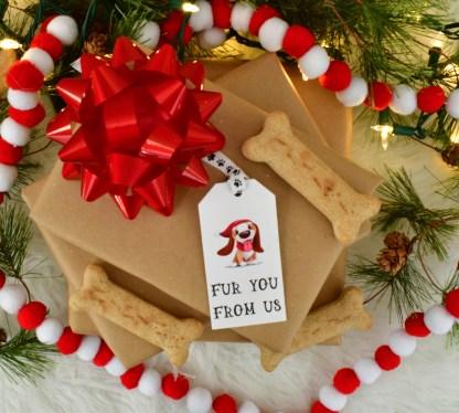 Dog Christmas Gift Tags