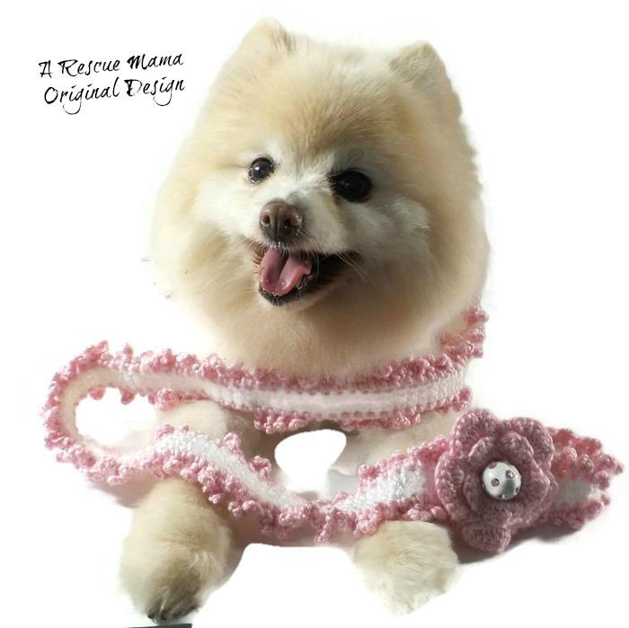 dog leash, pink dog leash, fancy dog leash, handmade dog leash, crochet dog leas