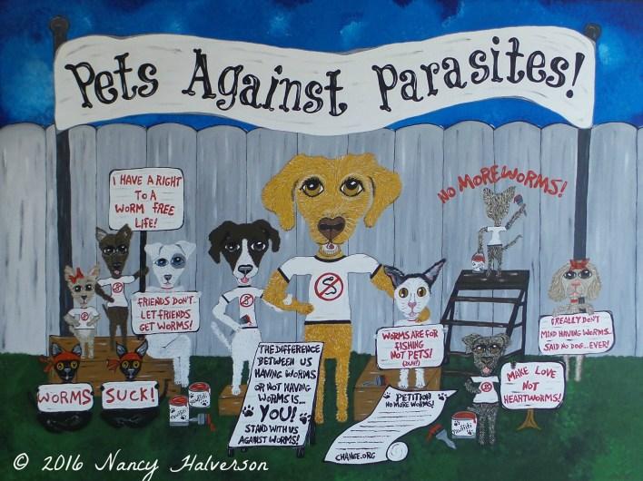 veterinary art, vet clinic art, art for vet clinic, dog art, cat art,