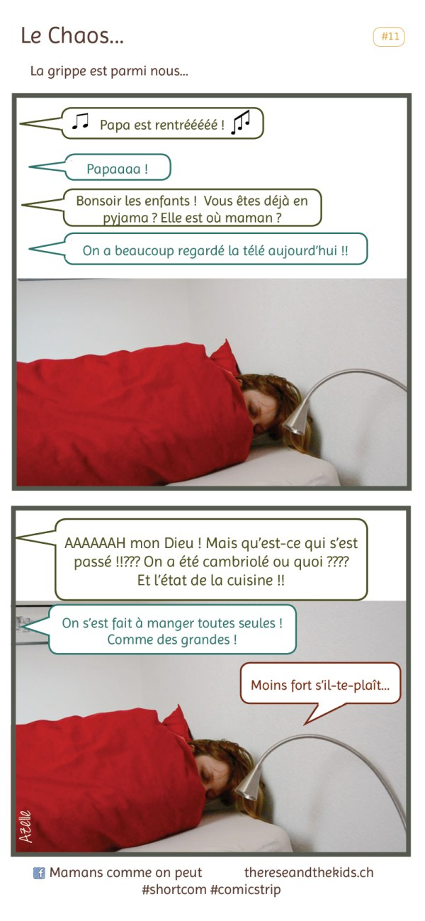 comicstrip 11 Le Chaos ou la grippe