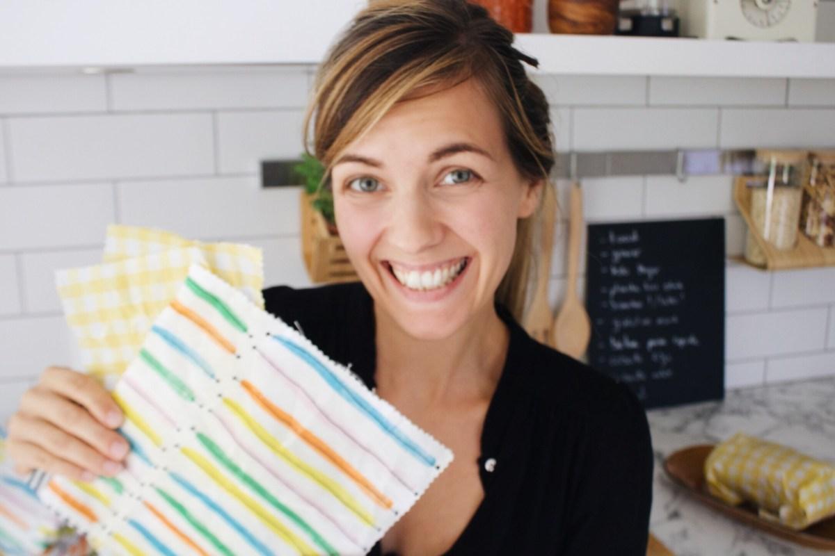 wrap cire abeille emballage eco go green thereseandthekids blog suisse maman diy