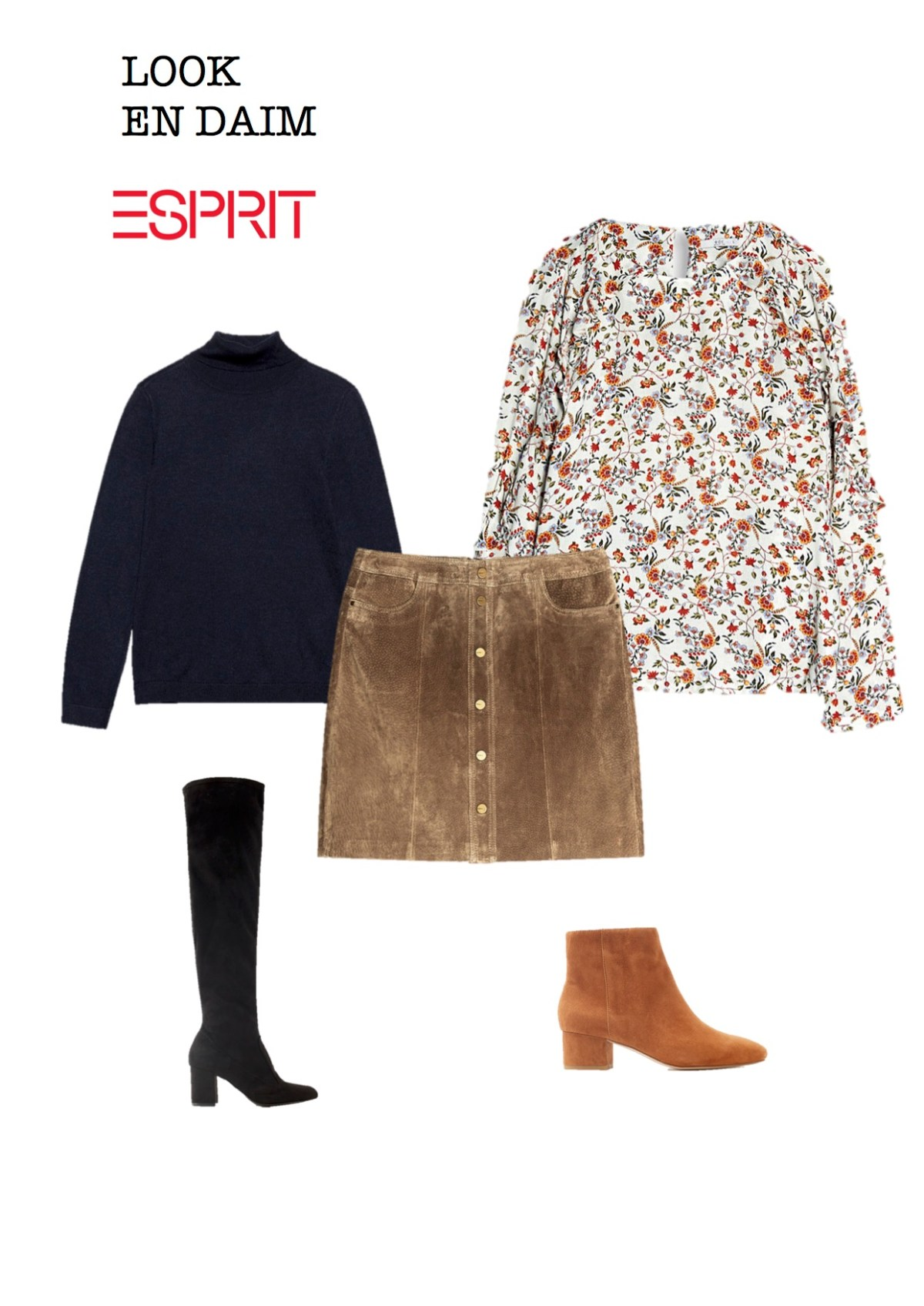 Look Carrolé esprit blog thereseandthekids mode tenue