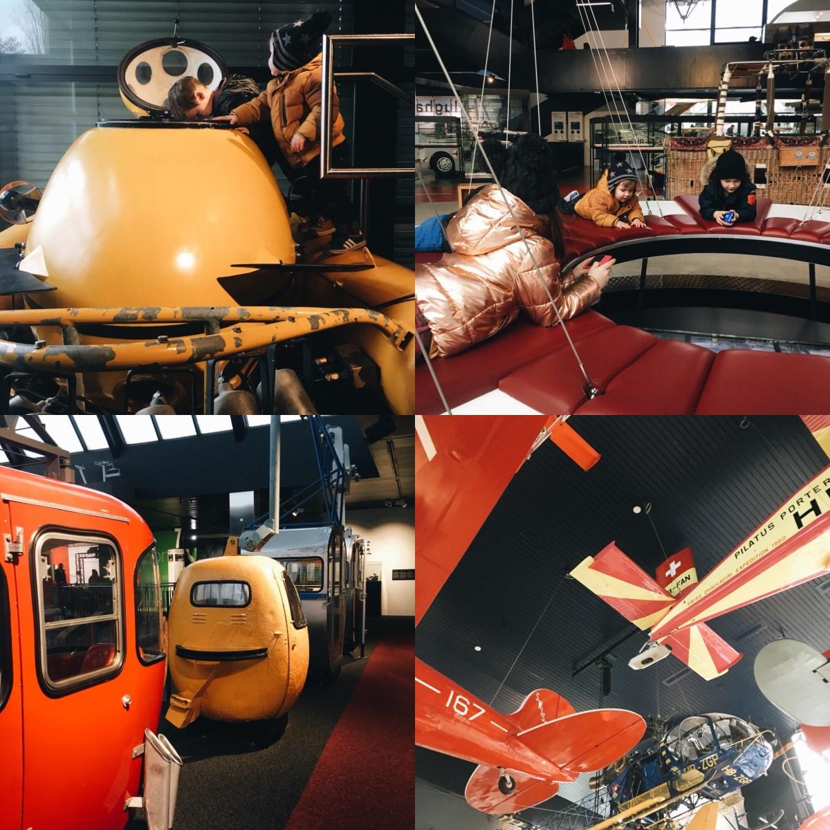 Musée transport suisses verkehrshaus lucerne enfant séjour blog maman