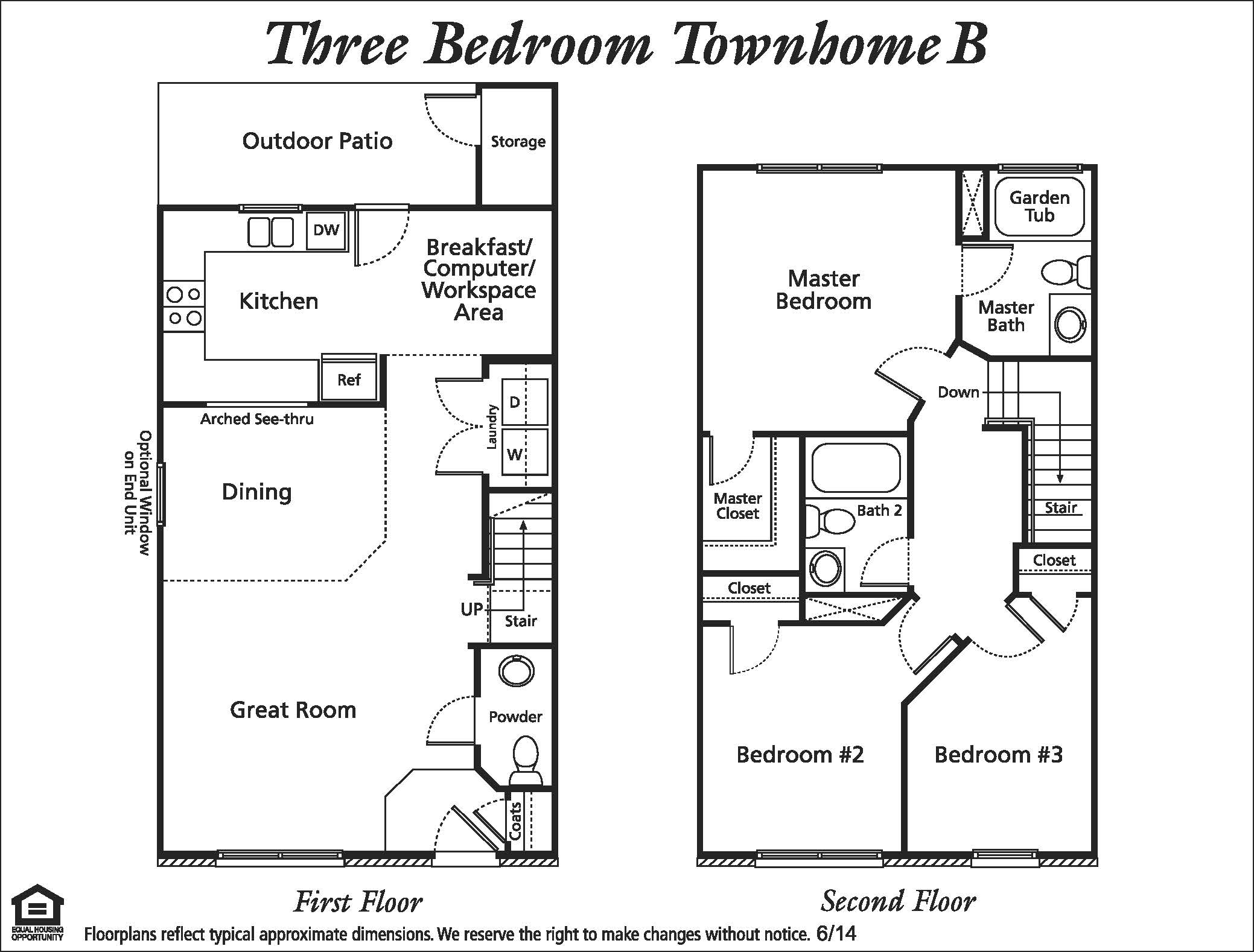Typical Townhouse Dimensions