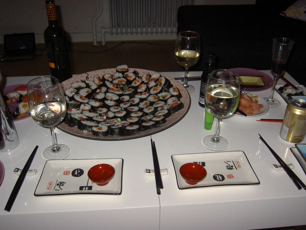 Sushi, histaminintollerans och lampjävlar... (2/3)
