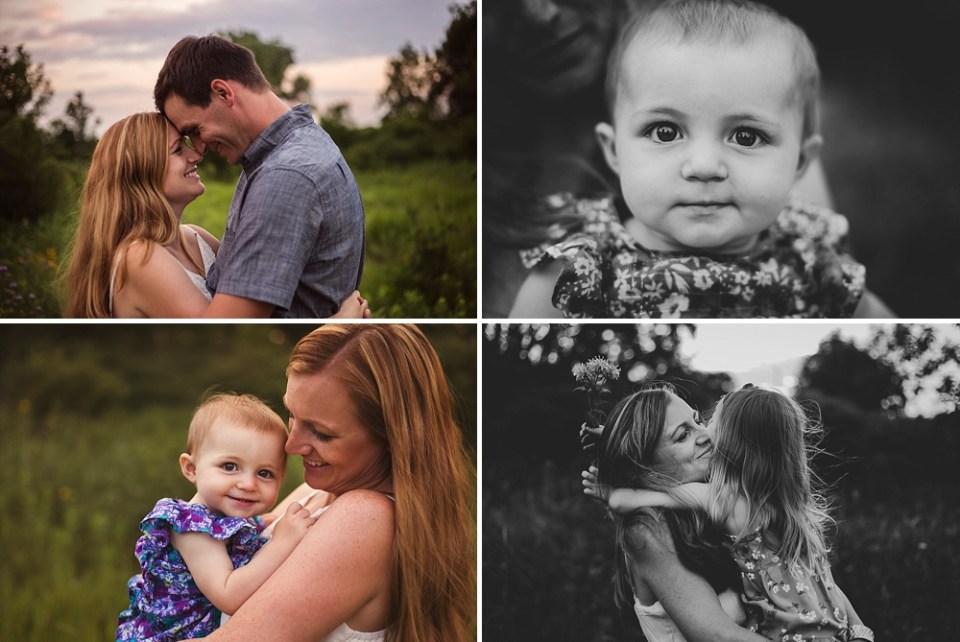 dark moody family photographs