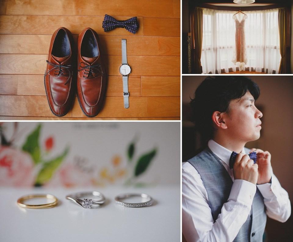 wedding details for Japanese wedding