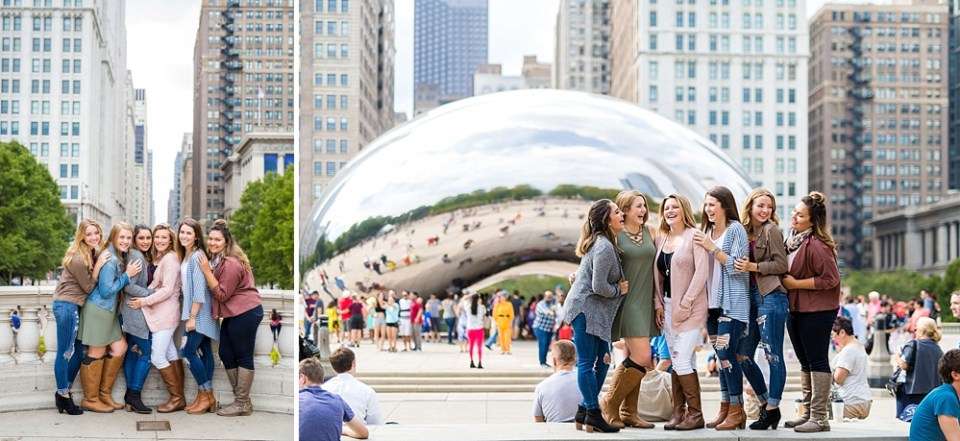 Millenium Park bean for senior pictures