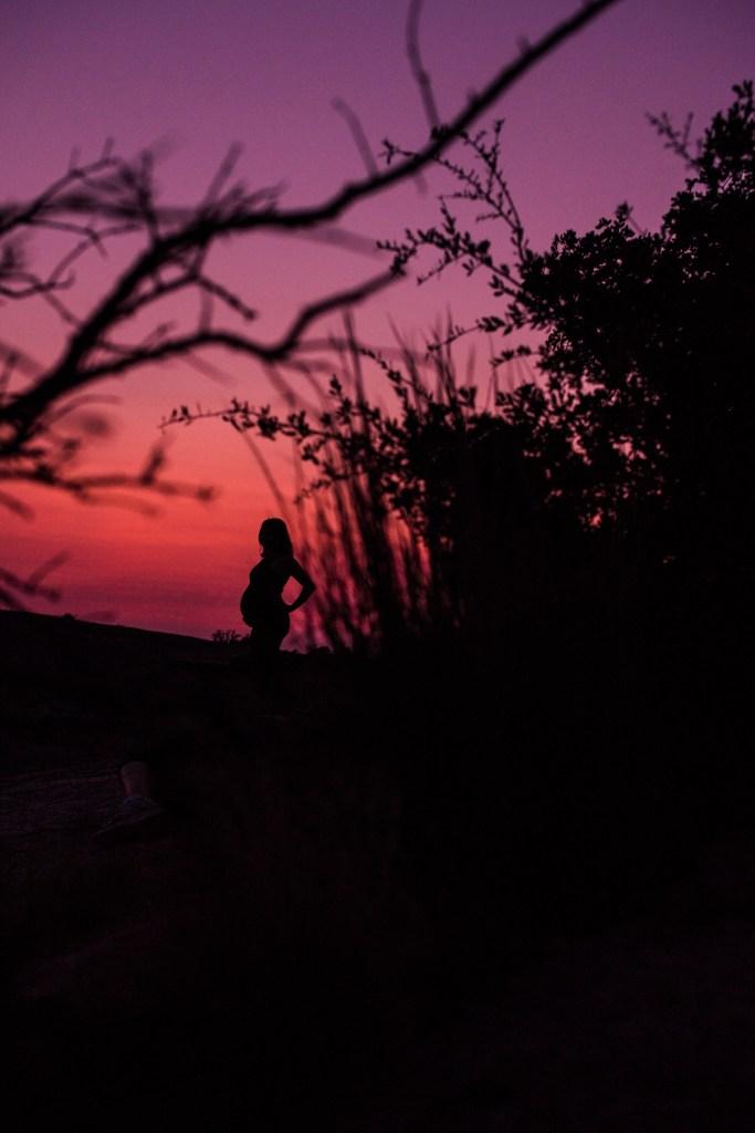 maternity silhouette photos
