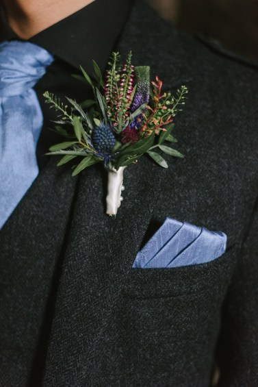 straight pins are good for boutonnieres