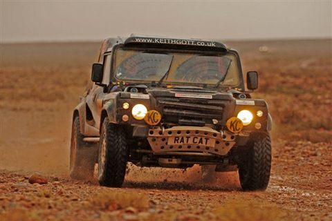 Tuareg Rally 2012