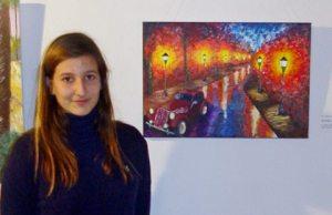 Elena Mico, 'Road After Rain'